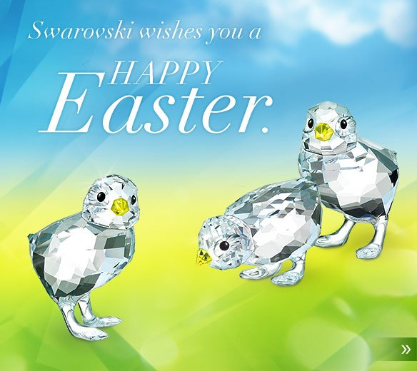 Swarovski wishes you a Happy Easter.