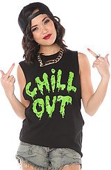 The Chill Out Muscle Tee