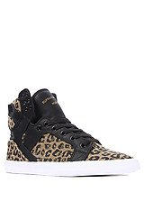 The Skytop Sneaker in Cheetah Print Canvas