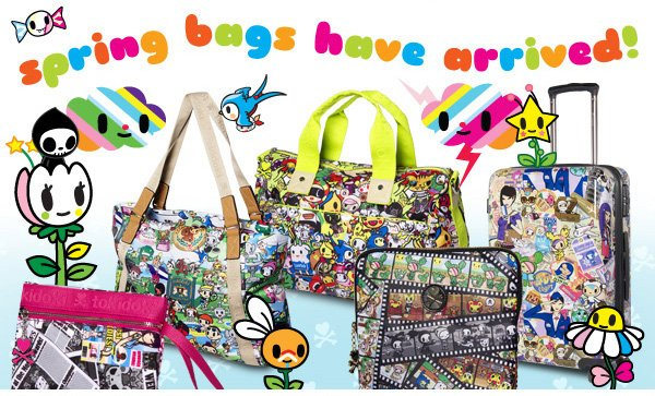 tokidoki Spring 2013 Bags are now in!