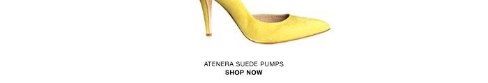 Atenera suede pumps