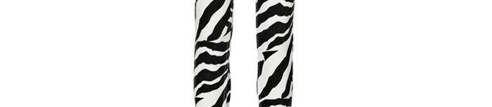 Taliana zebra-printed jeans