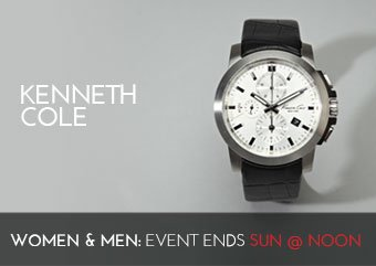 KENNETH COLE - WATCHES