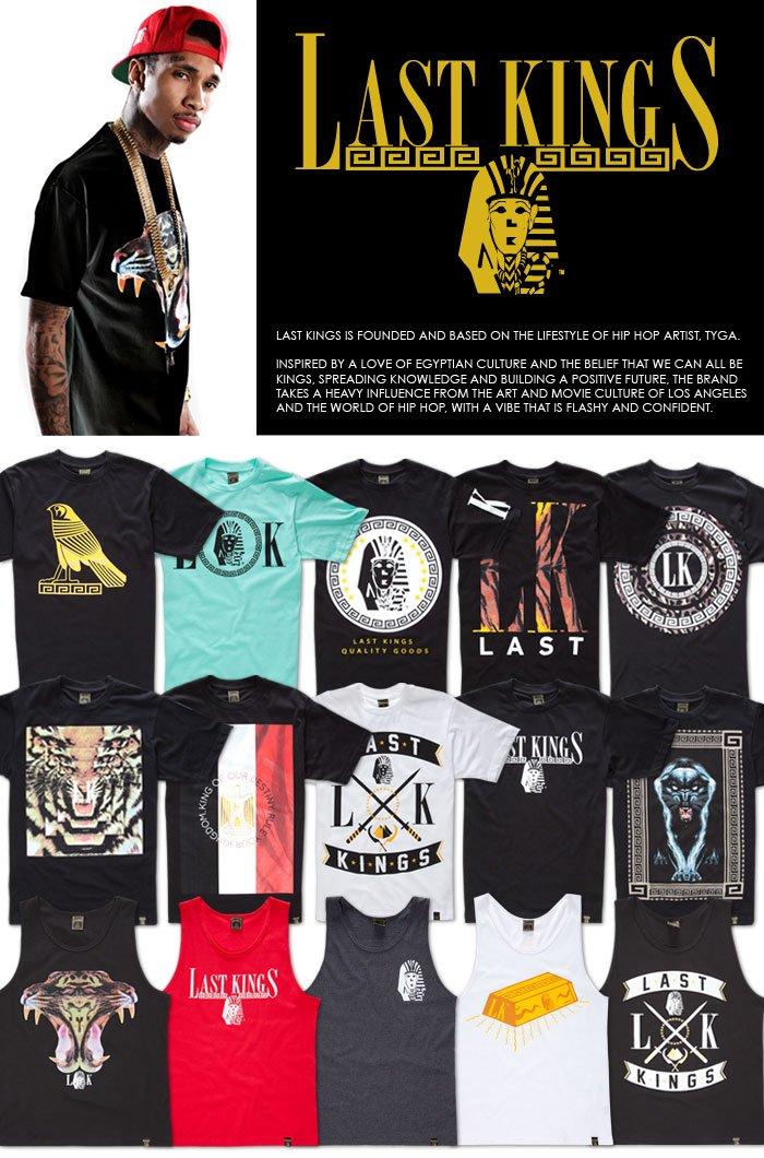 Last Kings Tuts Mens T Shirt