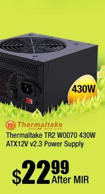Thermaltake TR2 W0070 430W ATX12V v2.3 Power Supply
