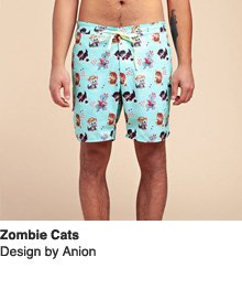 Zombie Cats - Design by Anion