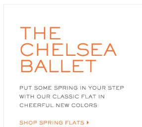 the chelsea ballet put some spring in your step with our classic flat in cheerful new colors shop spring flats