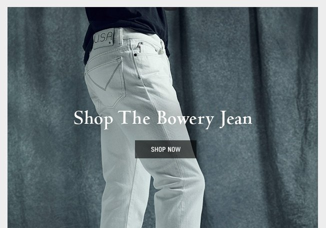 Shop The Bowery Jean