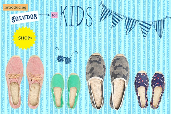 Introducing Soludos Kids!