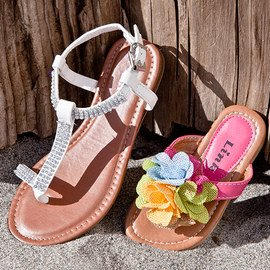 Sunny Steps: Girls' Sandals