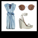 Saturday Style: Denim Dress