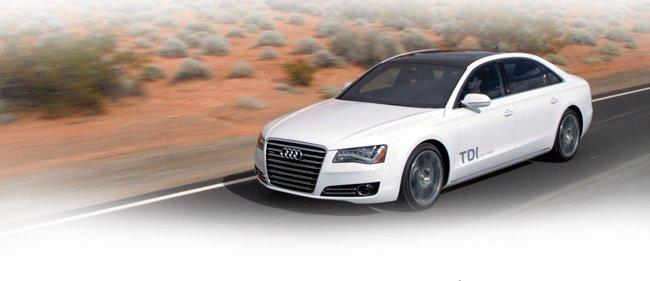 Meet the new Audi A8 L TDI® clean diesel