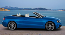 Explore the exhilarating Audi RS 5 Cabriolet