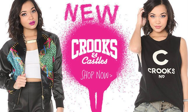 New Crooks and Castles on Miss KL
