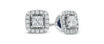 Vera wang Love Zales Diamond Studs