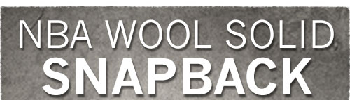 NBA Wool Solid Snapback