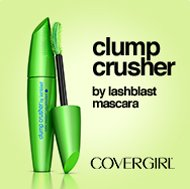 COVERGIRL. Clumb Crusher by lastblast mascara. Get 200% more volume, zero clumps after 30 strokes. Buy now