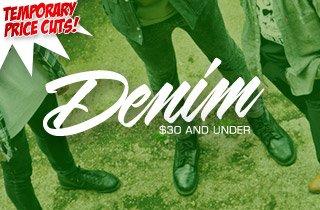 Price Cut: Denim