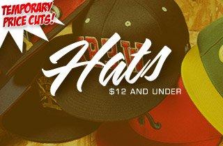 Price Cut: Hats