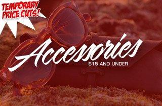 Price Cut: Accessories