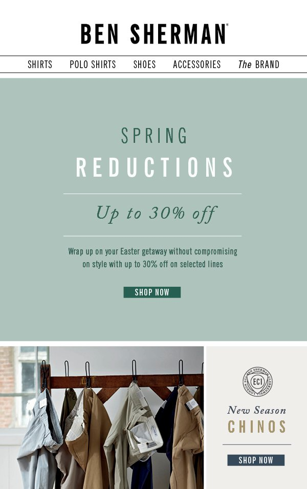 Spring Reductions
