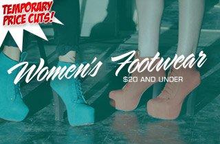 Price Cut: Women's Footwear