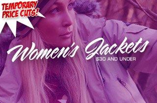 Price Cut: Women's Jackets