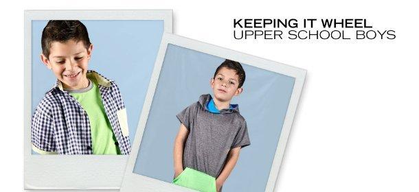 KEEPING IT WHEEL:  UPPER SCHOOL BOYS, Event Ends March 31, 9:00 AM PT >