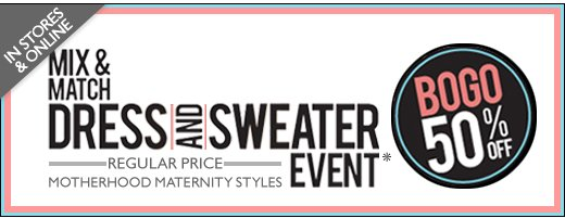MIX & MATCH DRESS & SWEATER EVENT