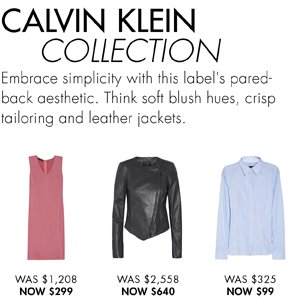 CALVIN KLIEN COLLECTION