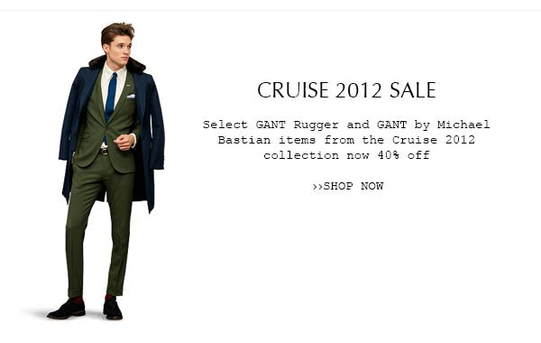 SHOP OUR CRUISE 2012 SALE