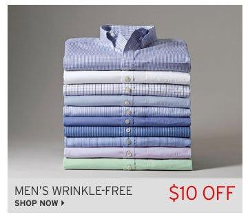 Shop Men's Wrinkle-Free Shirts