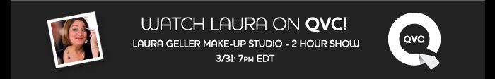 Watch Laura on QVC on March 31 at 7PM EDT.