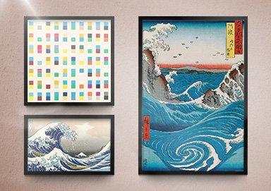 Shop Canvas Art ft. Katsushika Hokusai
