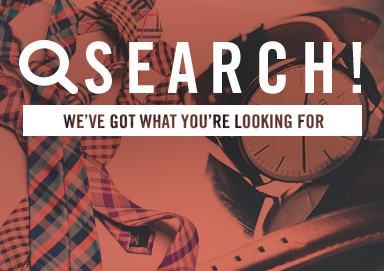 Shop Search by Style: What Guys Want NOW