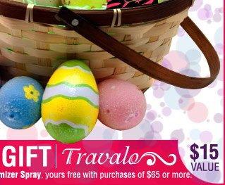 A Fragrance Basket Of Easter Savings 20% OFF Site Wide Sale! USE CODE: EASTER20