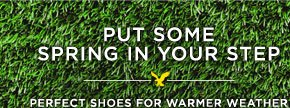 Put Some Spring In Your Step | Perfect Shoes For Warmer Weather