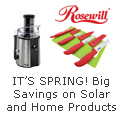 Rosewill - IT'S SPRING! Big Savings on Solar and Home Products.