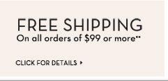 Free Shipping **