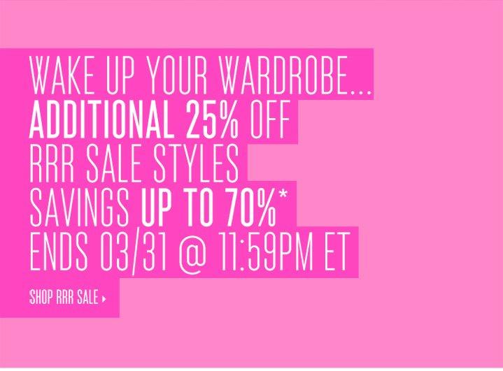 Shop RRR Sale*