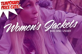 Price Cut: Women's Jackets