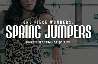 One Piece Wonders: Spring Jumpers