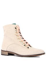 The Penny Dreamcore Boot in Beige