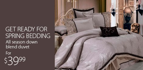 Get ready for spring bedding