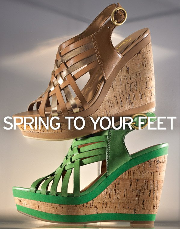 SPRING TO YOUR FEET