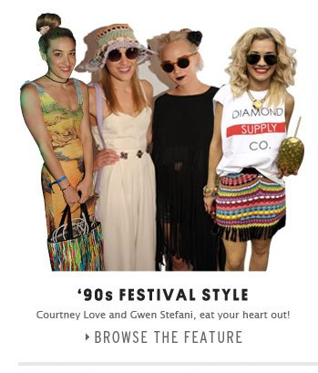 90'S FESTIVALS STYLE - Browse the feature