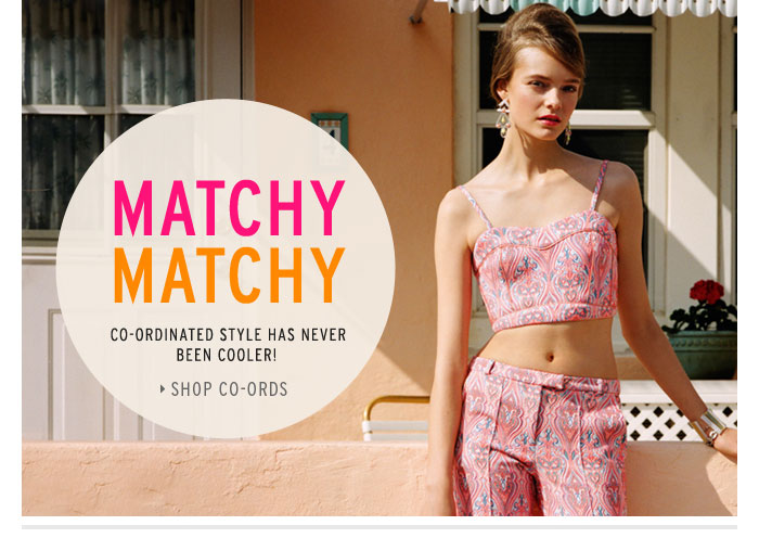 MATCHY MATCHY - Shop Co-ords