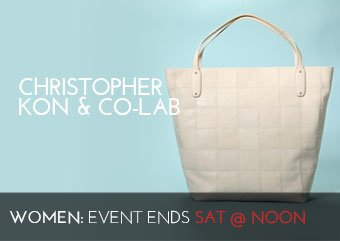 CHRISTOPHER KON CO-LAB BAGS