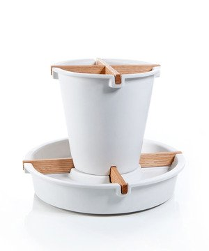 Rotating Utensil Rack - White