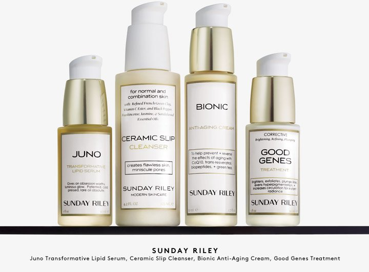 Transform your skin with cult favorite skincare line Sunday Riley.